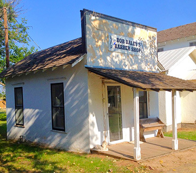 Bob Baley's Barber Shop - Mobeetie, TX