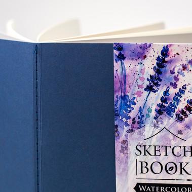 Дизайн оформления скетчбуков серии Nature