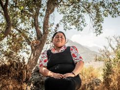 Maria Huenuñir - Mapuche