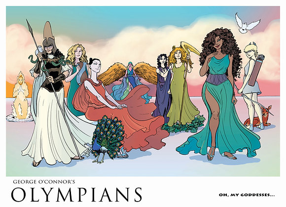 OLYMPIANS POSTER: Oh, My Goddesses...