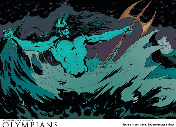 OLYMPIANS POSTER: Ruler of the Boundless Sea