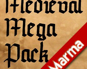 Authentic Early Medieval MEGA PACK now on the Unity3D Assetstore!