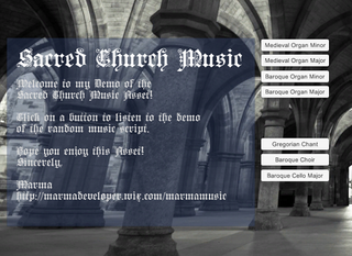 Realistic Church Music for Video Games!