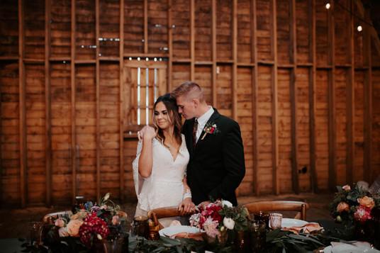 Heritage Barn Boho Wedding