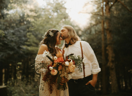 Sugar House Elopement at The Heritage Barn
