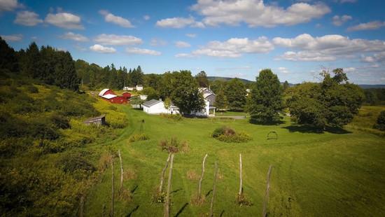 Dunham Homestead Fly Over