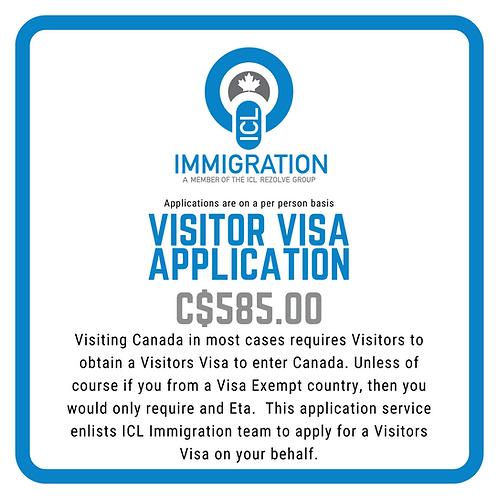 Visitor Visa Application (per person)