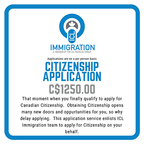 Citizenship Application