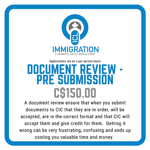 Document Review - Pre EE Profile Creation