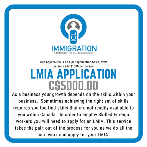 LMIA Application (for Businesses)