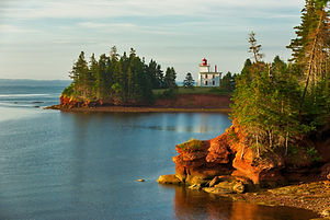 Spring Lighthouse in Prince Edward Island