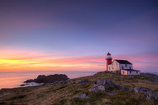 A lighthouse in Newfoundland and Labrador