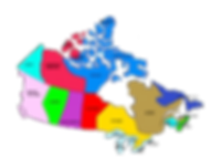 Canada Provinces Map small