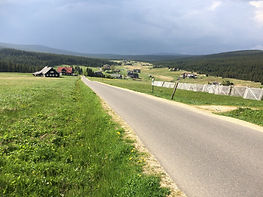Bike trip in Europe - Jizera Mountains -