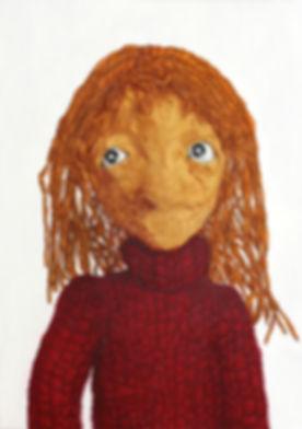 puppet painting, kukla resmi, gerçekçi, realistik, hyperrealism, murat yıldız, stranger