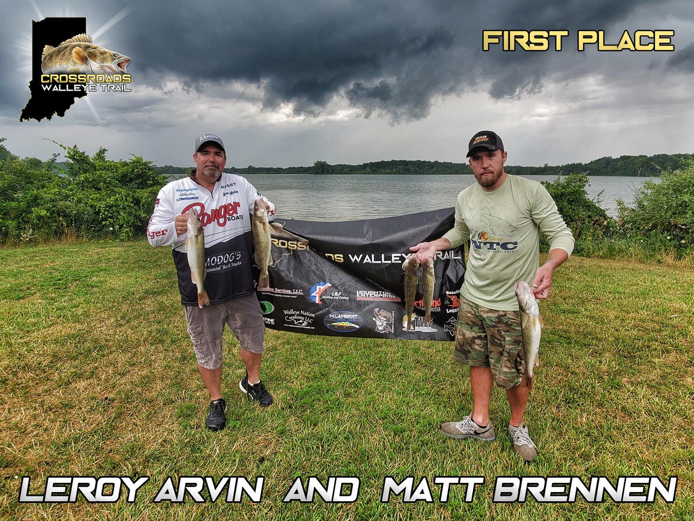 1st Place - Leroy Arvin & Matt Brennen