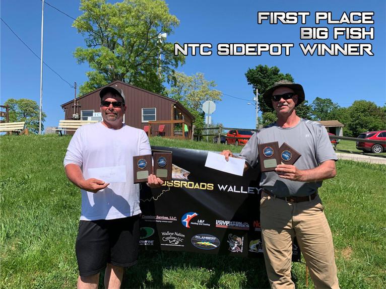 1st Place - Rick Mofield & Rusty Thompson