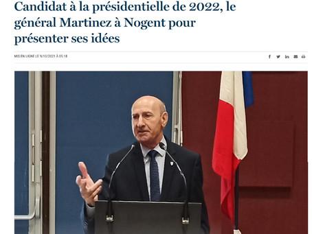 Le Général MARTINEZ à la rencontre des Français...