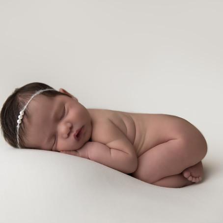Raleigh Newborn Photographer | Baby Scarlett