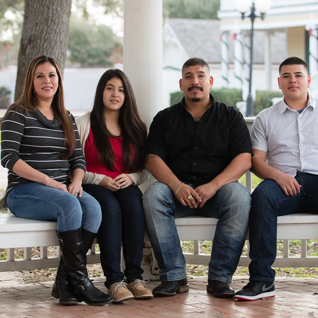 Raleigh Family Photographer | The Flores Family