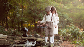 Pinehurst Children's Photographer | The Secret Garden