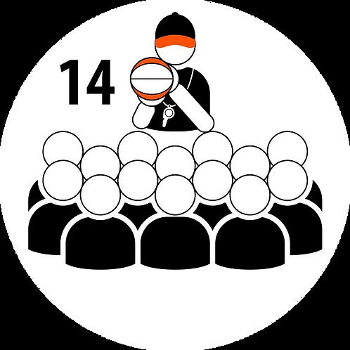 Live Coaching Session - 14 Participants (1 Hour)
