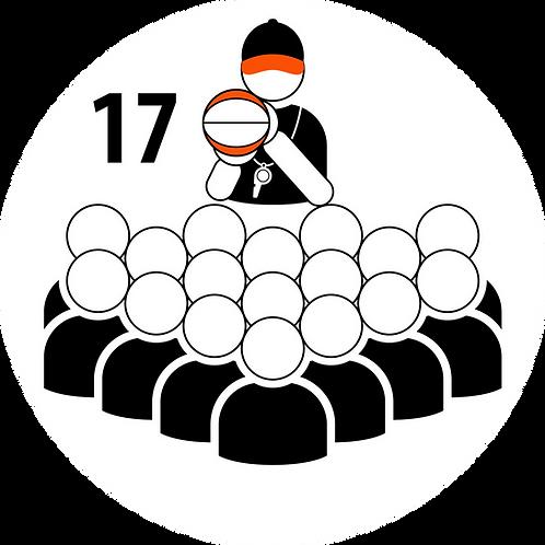 Live Coaching Session - 17 Participants (1 Hour)