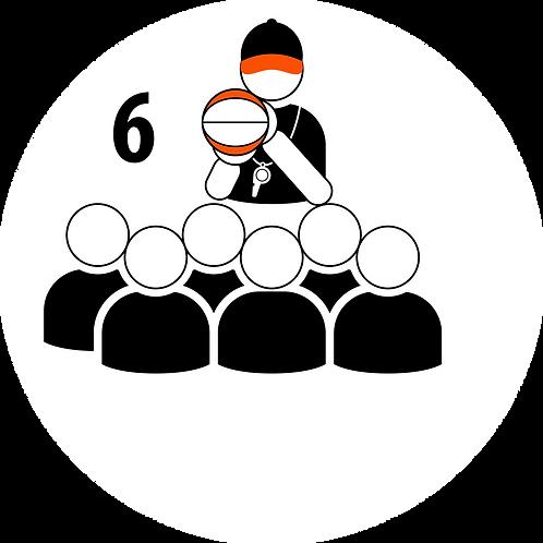 Live Coaching Session - 6 Participants (1 Hour)