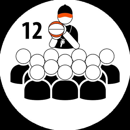Live Coaching Session - 12 Participants (1 Hour)