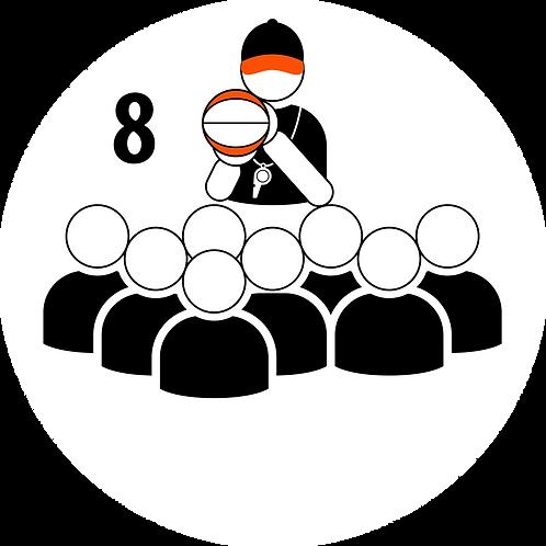 Live Coaching Session - 8 Participants (1 Hour)