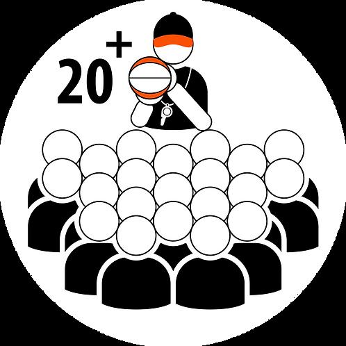 Live Coaching Session - 20+ Participants (1 Hour)