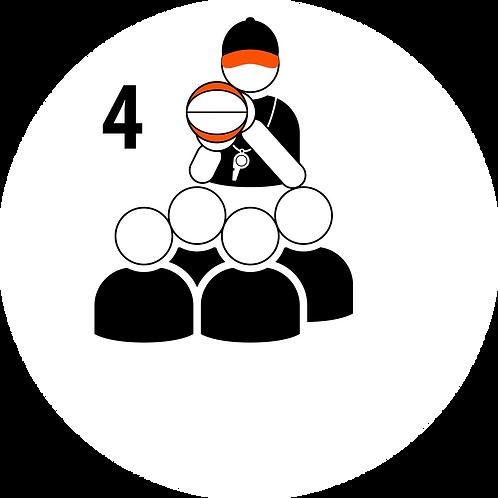 Live Coaching Session - 4 Participants (1 Hour)