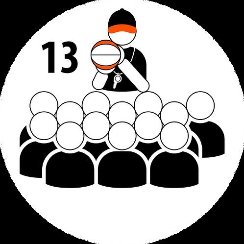 Live Coaching Session - 13 Participants (1 Hour)