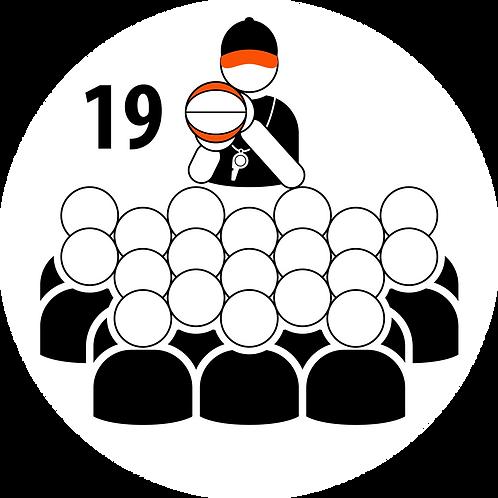 Live Coaching Session - 19 Participants (1 Hour)