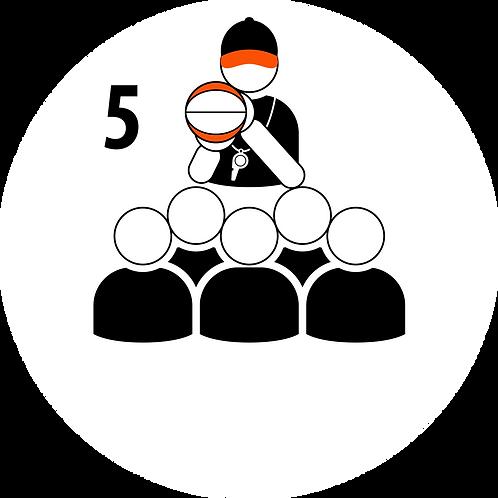 Live Coaching Session - 5 Participants (1 Hour)