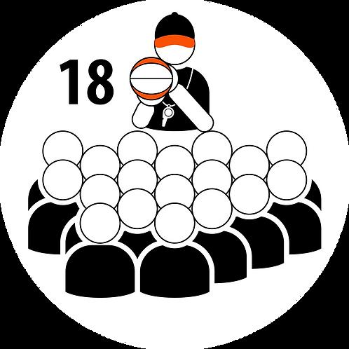 Live Coaching Session - 18 Participants (1 Hour)