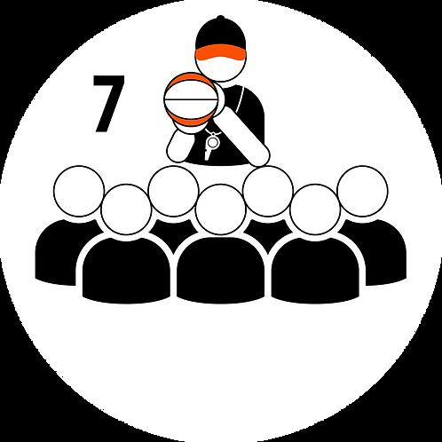 Live Coaching Session - 7 Participants (1 Hour)