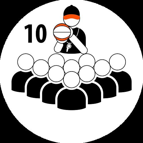 Live Coaching Session - 10 Participants (1 Hour)
