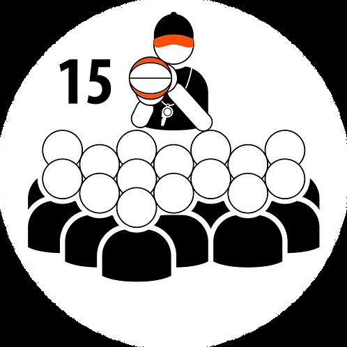 Live Coaching Session - 15 Participants (1 Hour)