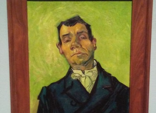 COVID-19 Lockdown Item 23 - Vincent van Gogh - Portrait of a Man at the Museum of Fine Arts, Houston