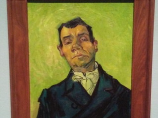 COVID-19 Lockdown Museum Item 23 - Vincent van Gogh - Portrait of a Man, Houston