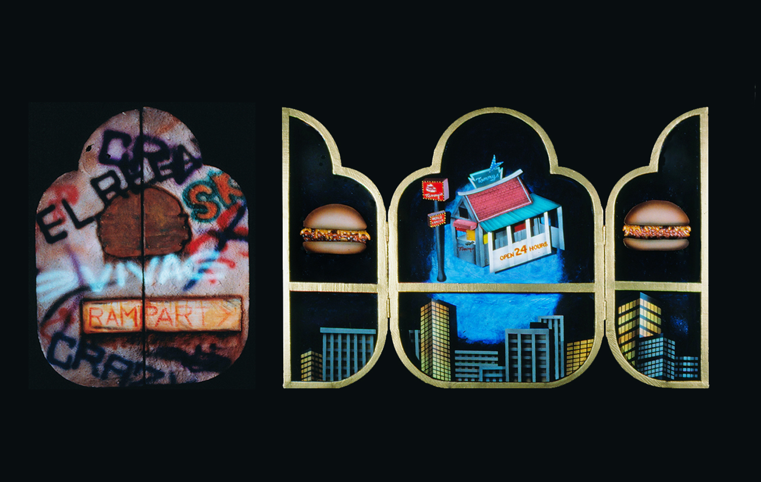Urban Altarpiece:  Tommy's Burgers