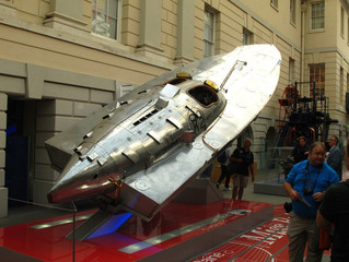 COVID-19 Lockdown Museum Item 18 - Miss Britain III Raceboat - National Maritime Museum Greenwich