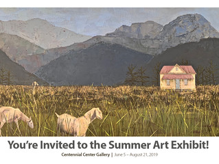 Kent Centennial Gallery Summer Art Invitation