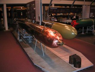 COVID-19 Lockdown Museum Item 8 - Torpedoes at the U.S. Navy Undersea Museum in Keyport Washington