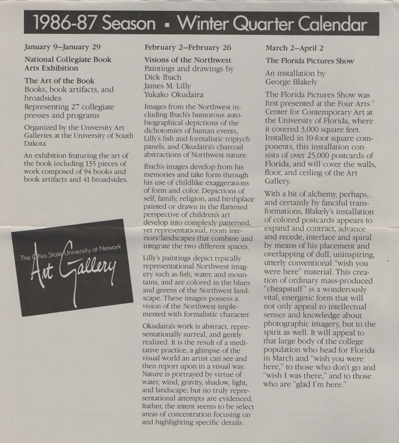 Fairbanks Gallery Oregon State University