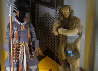 COVID-19 Lockdown Museum Item 5 - Wizard of Oz Costumes at the MOPOP