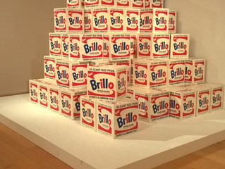 COVID-19 Lockdown Museum Item 10 - Andy Warhol Brillo Boxes at the Norton Simon Museum in Pasadena
