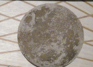 Laser Cut and Engraved Moon for Trial and Error