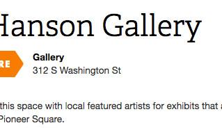 Gallery Affiliation with Lynn Hanson Gallery